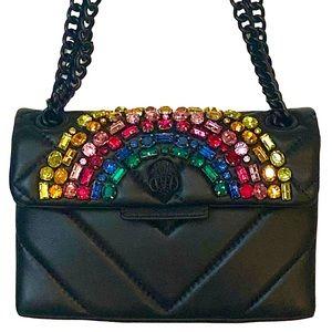 Kurt Geiger Crystal Rainbow Mini Kensington Bag
